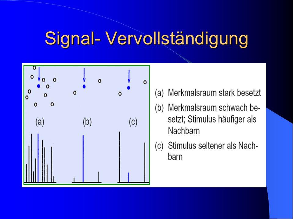 Signal- Vervollständigung