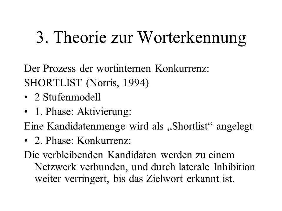 3. Theorie zur Worterkennung