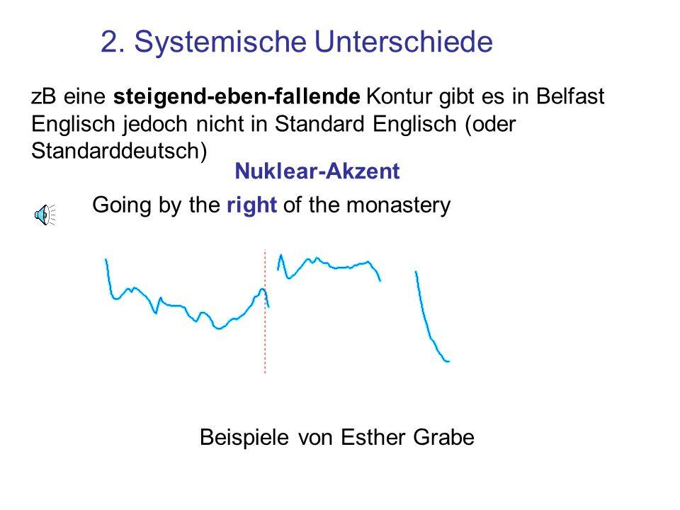 2. Systemische Unterschiede