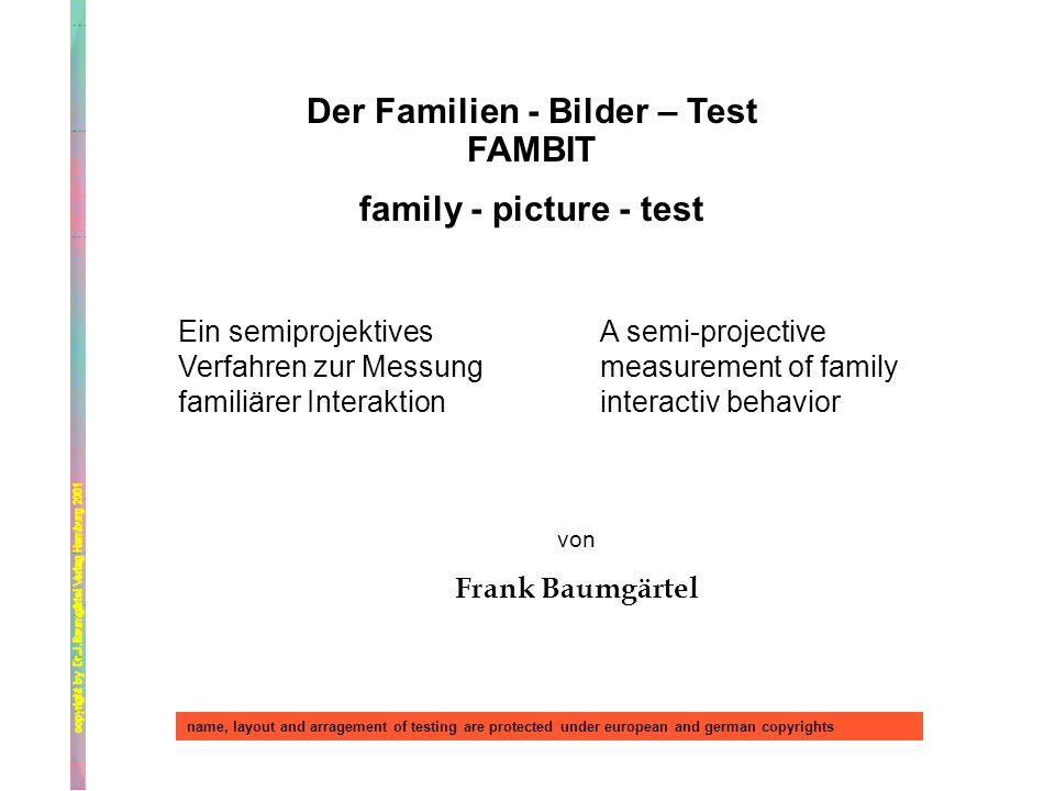 Der Familien - Bilder – Test FAMBIT