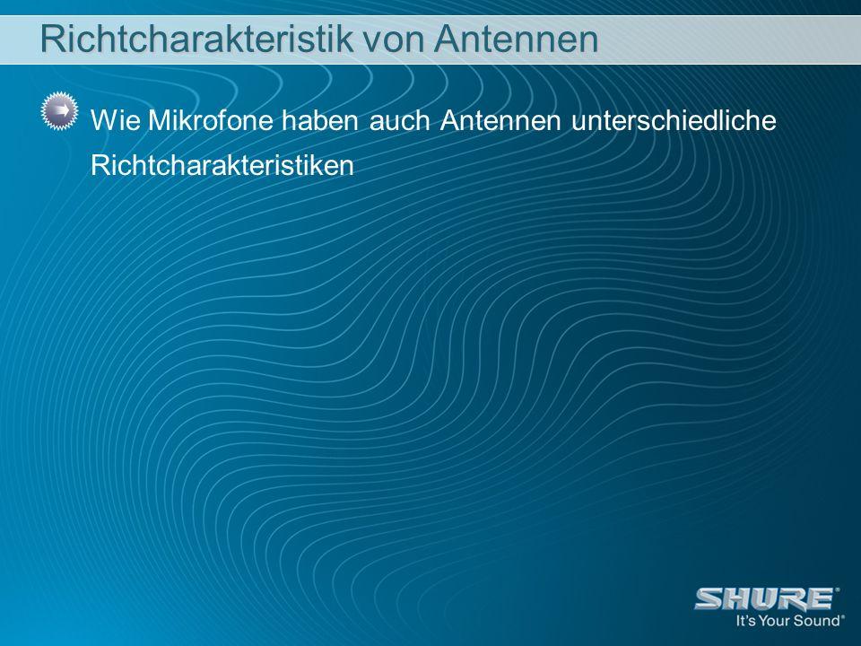 Richtcharakteristik von Antennen