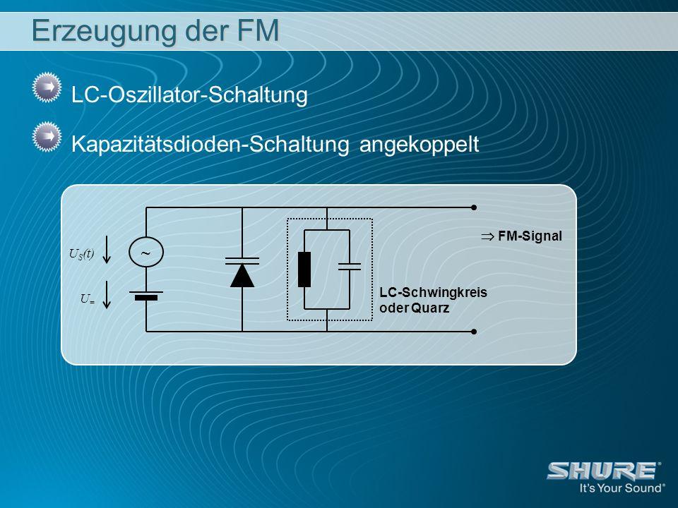 Erzeugung der FM LC-Oszillator-Schaltung