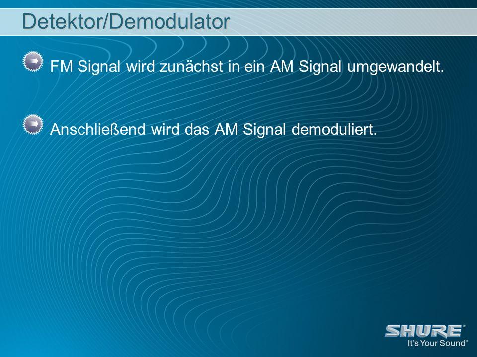 Detektor/Demodulator
