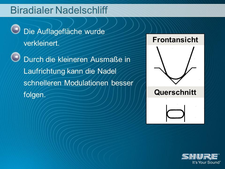 Biradialer Nadelschliff