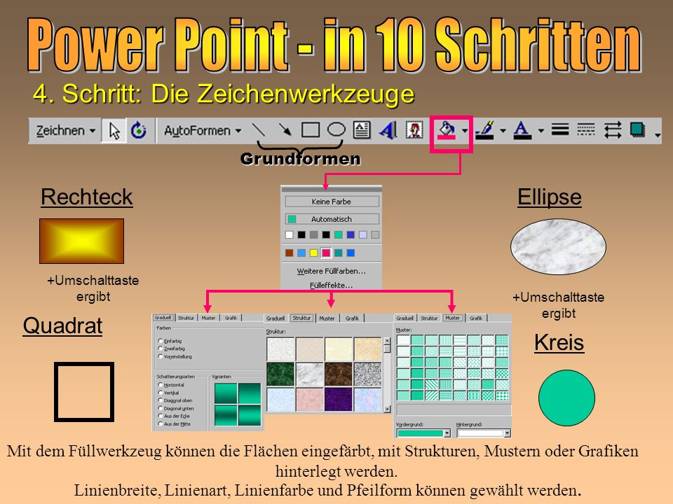Power Point - in 10 Schritten