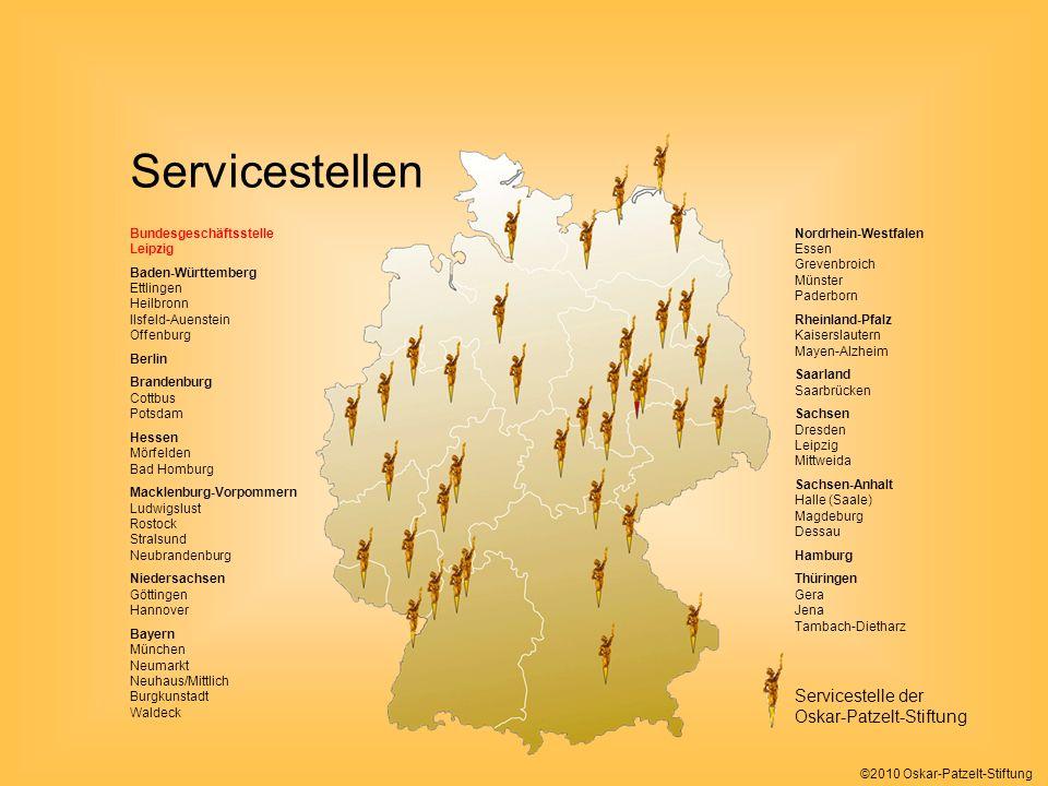 Servicestellen Servicestelle der Oskar-Patzelt-Stiftung