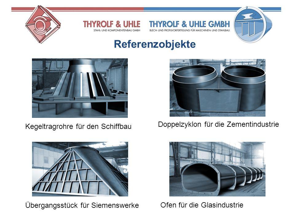 Referenzobjekte Doppelzyklon für die Zementindustrie