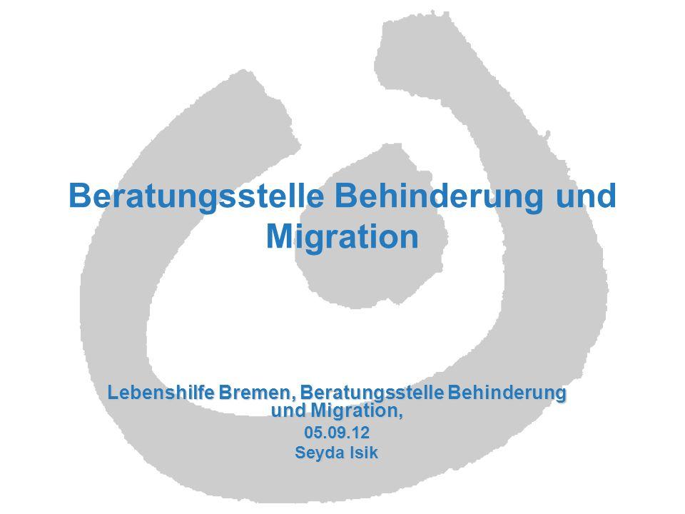 Beratungsstelle Behinderung und Migration