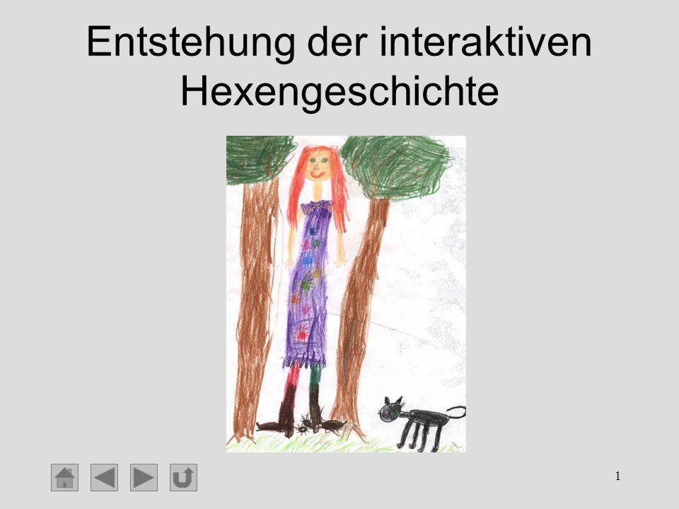 Entstehung der interaktiven Hexengeschichte