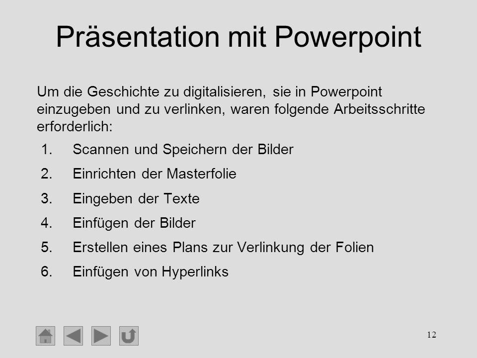 Präsentation mit Powerpoint