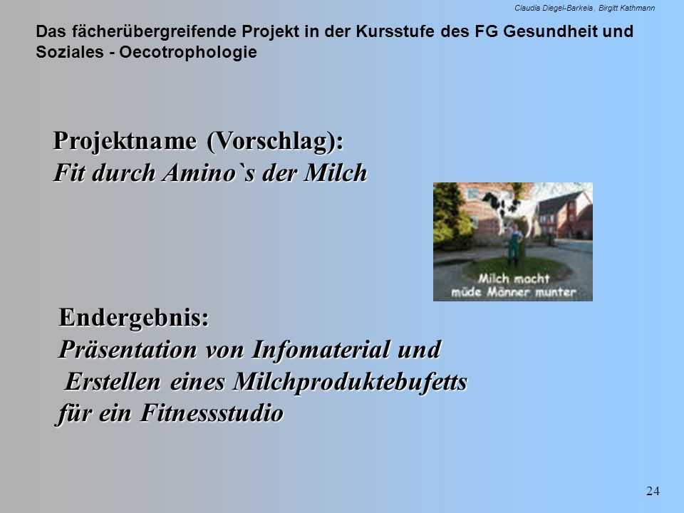 Projektname (Vorschlag):