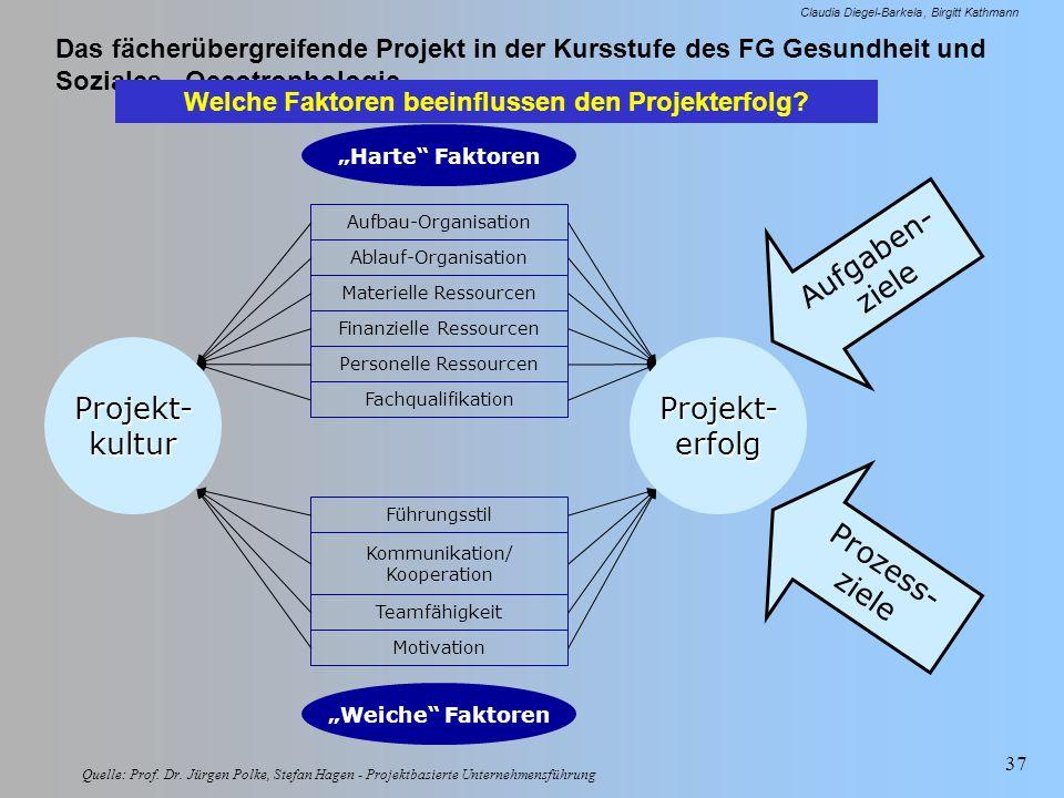 Welche Faktoren beeinflussen den Projekterfolg