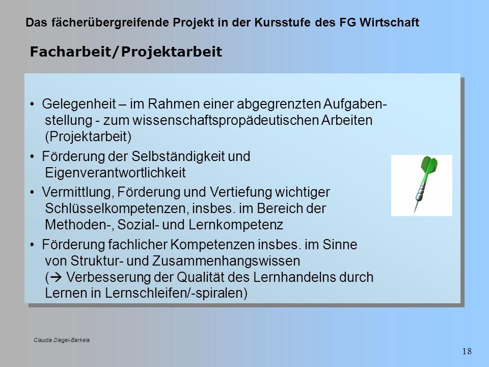 Facharbeit/Projektarbeit