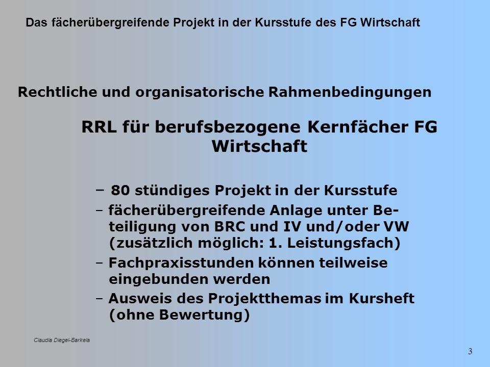 RRL für berufsbezogene Kernfächer FG Wirtschaft