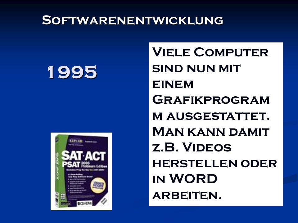 1995 Softwarenentwicklung