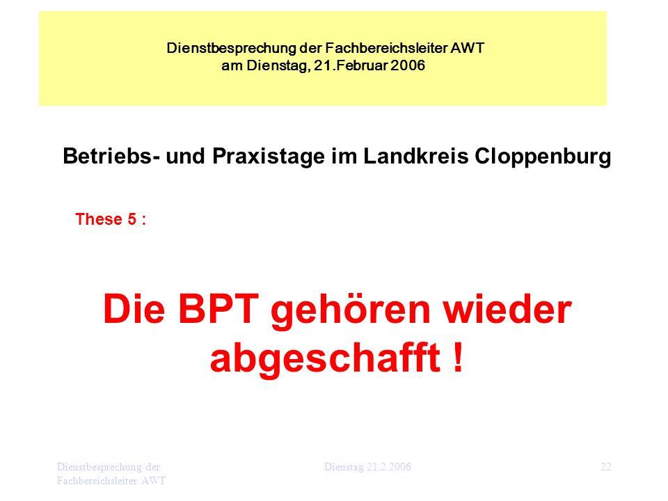 Betriebs- und Praxistage im Landkreis Cloppenburg