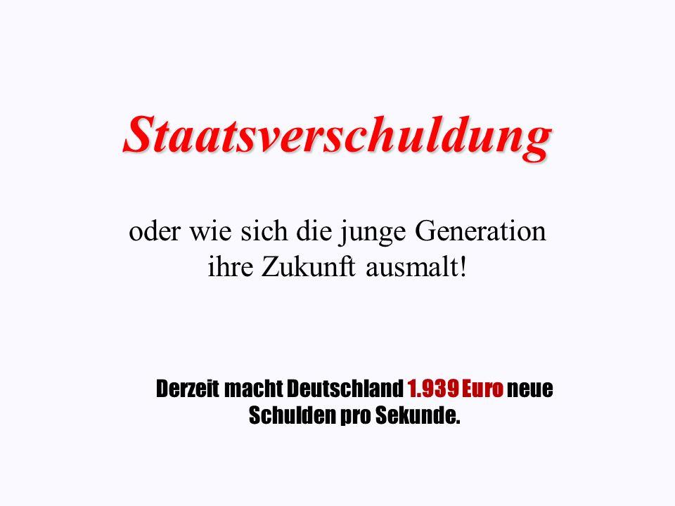 oder wie sich die junge Generation ihre Zukunft ausmalt!