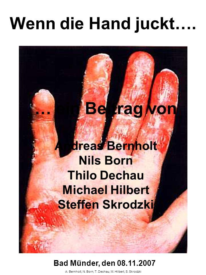 A. Bernholt, N. Born, T. Dechau, M. Hilbert, S. Skrodzki