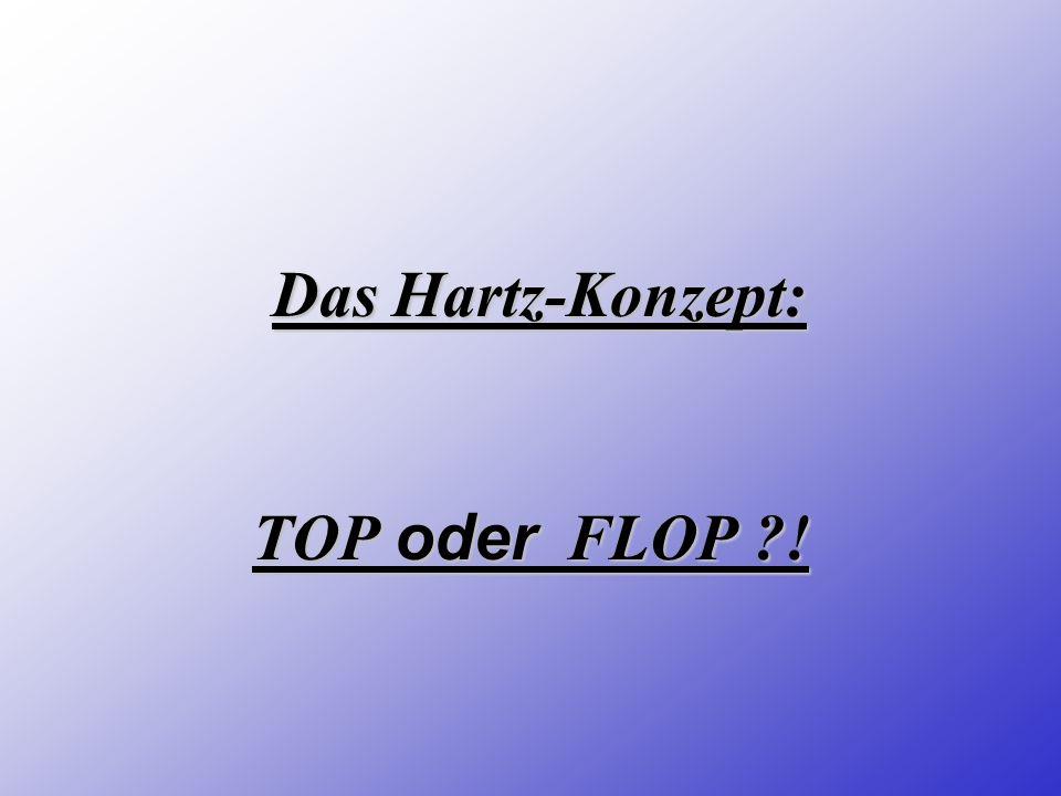 Das Hartz-Konzept: TOP oder FLOP !
