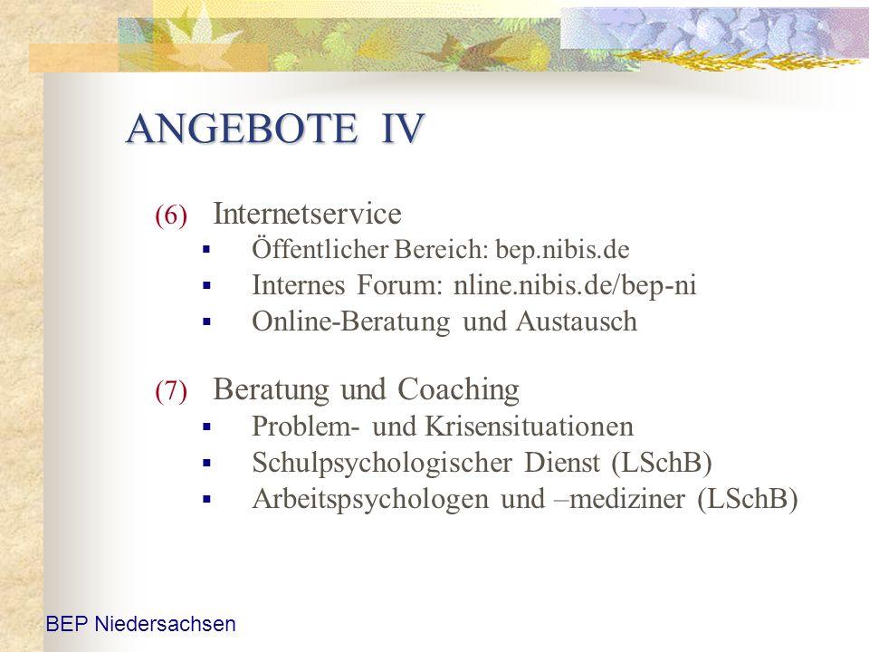 ANGEBOTE IV Internetservice Beratung und Coaching