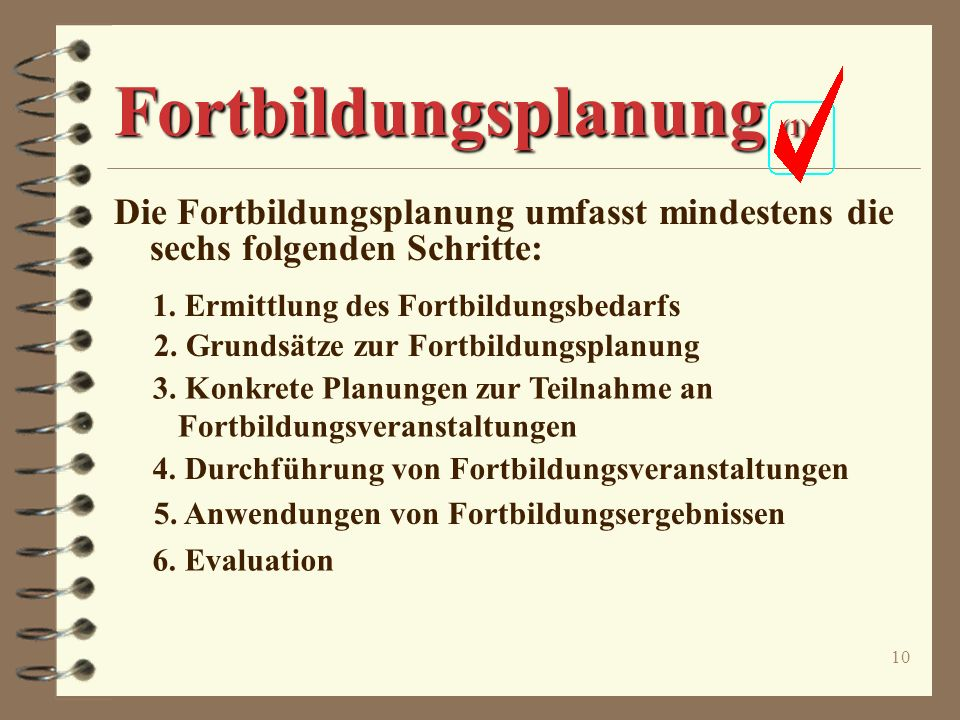Fortbildungsplanung (1)