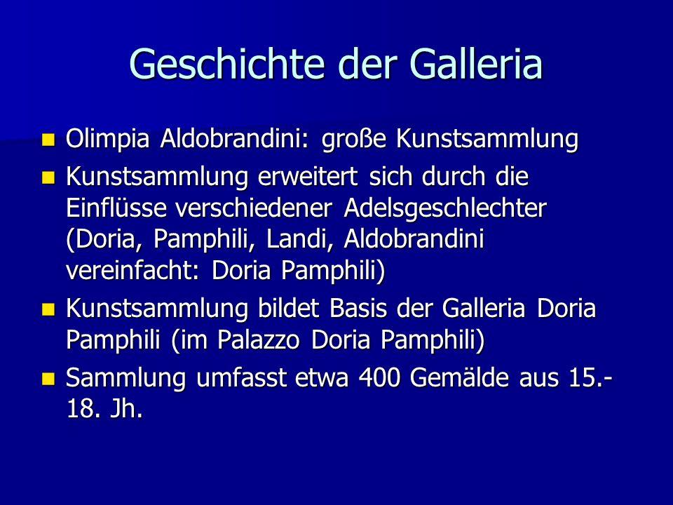 Geschichte der Galleria