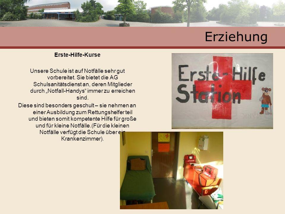 Erziehung Erste-Hilfe-Kurse