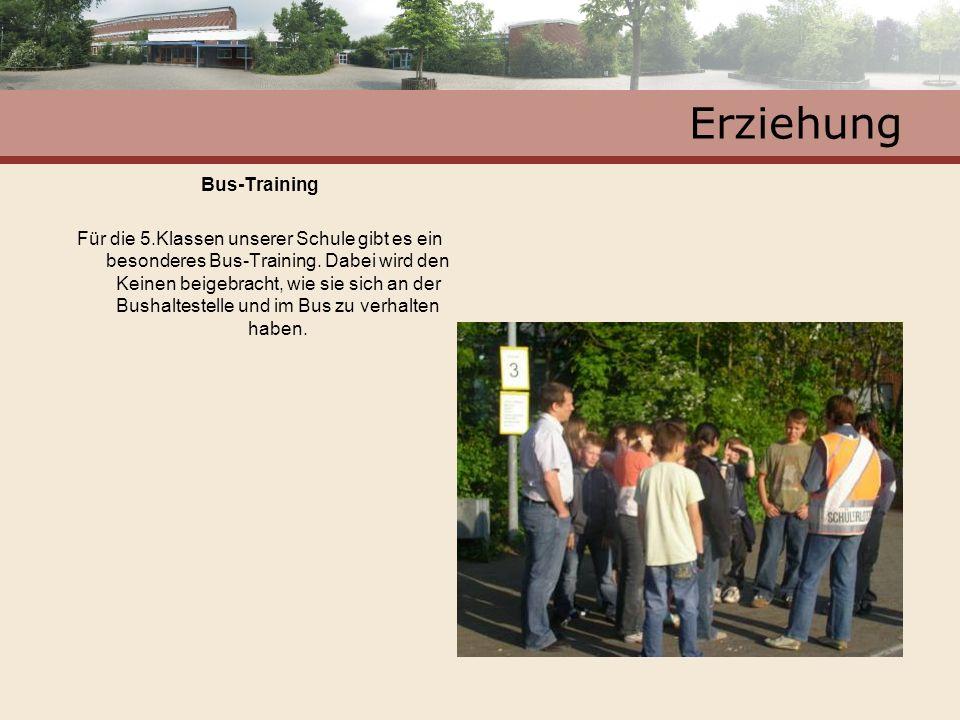 Erziehung Bus-Training