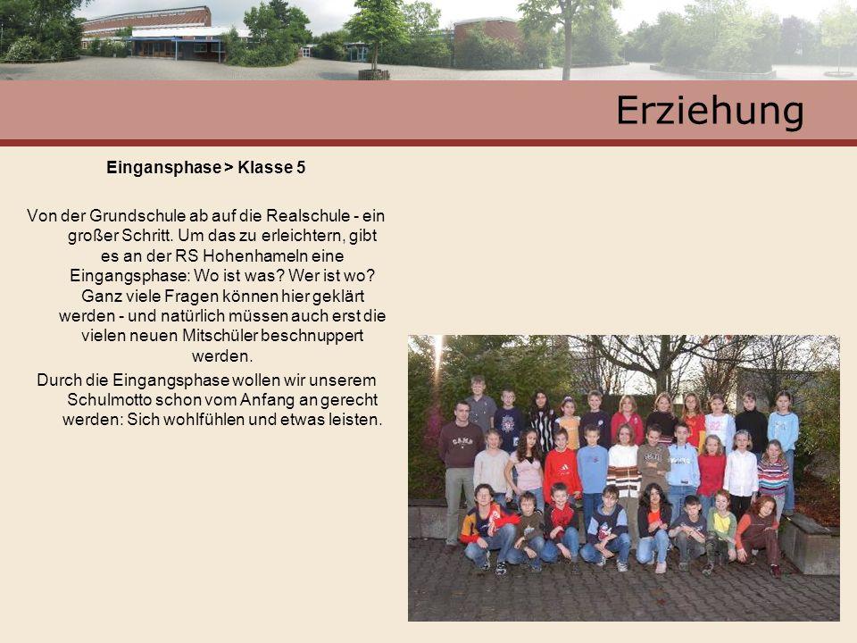 Eingansphase > Klasse 5