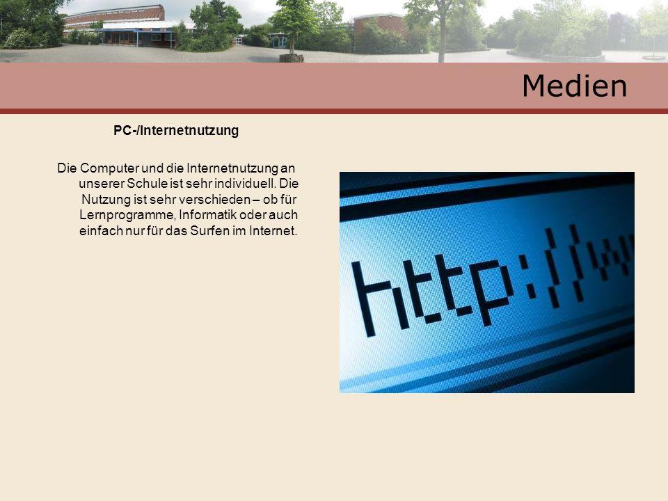 Medien PC-/Internetnutzung