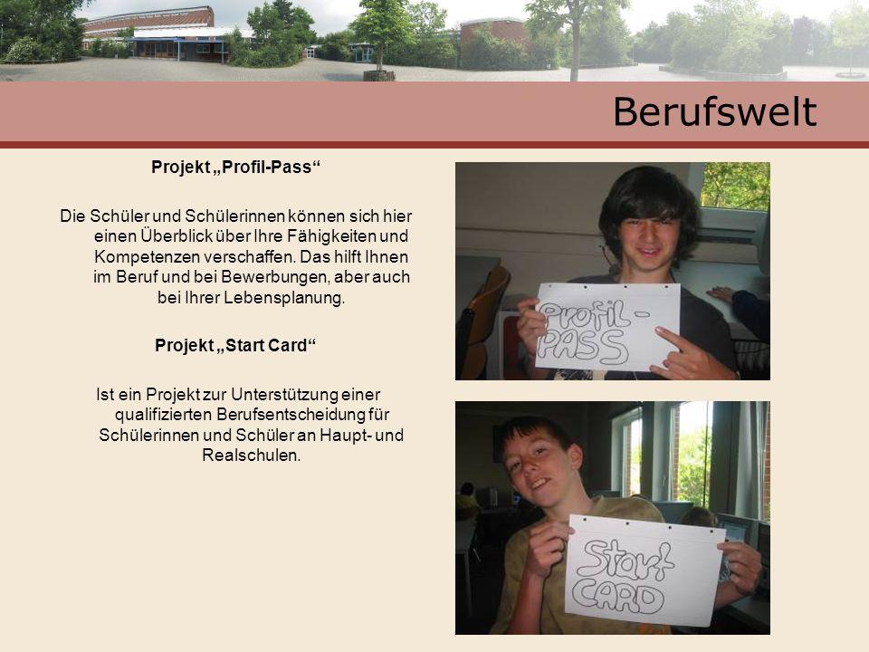 "Projekt ""Profil-Pass"