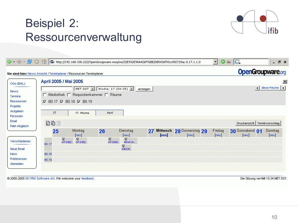 Beispiel 2: Ressourcenverwaltung