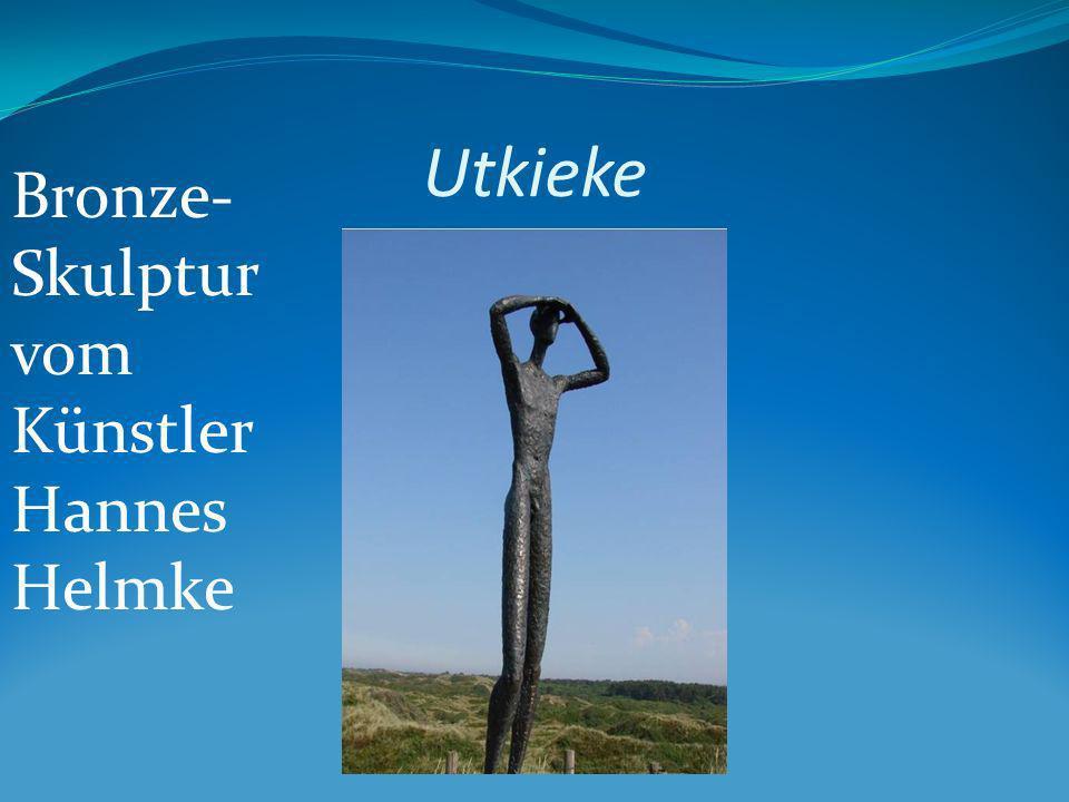 Utkieke Bronze-Skulptur vom Künstler Hannes Helmke