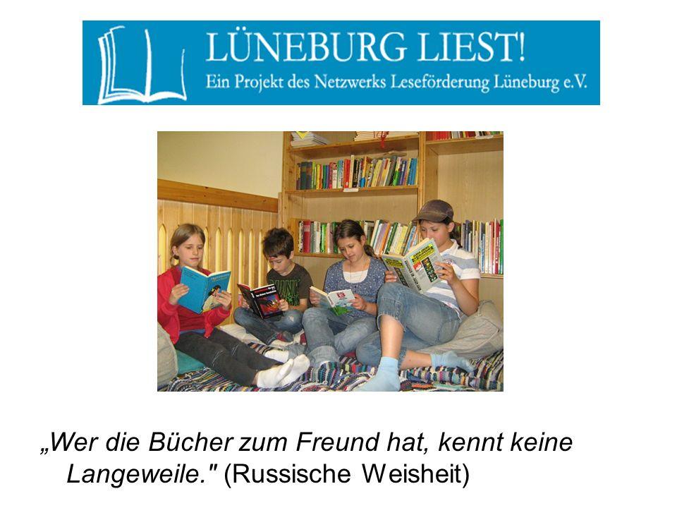 """""""Wer die Bücher zum Freund hat, kennt keine Langeweile"""