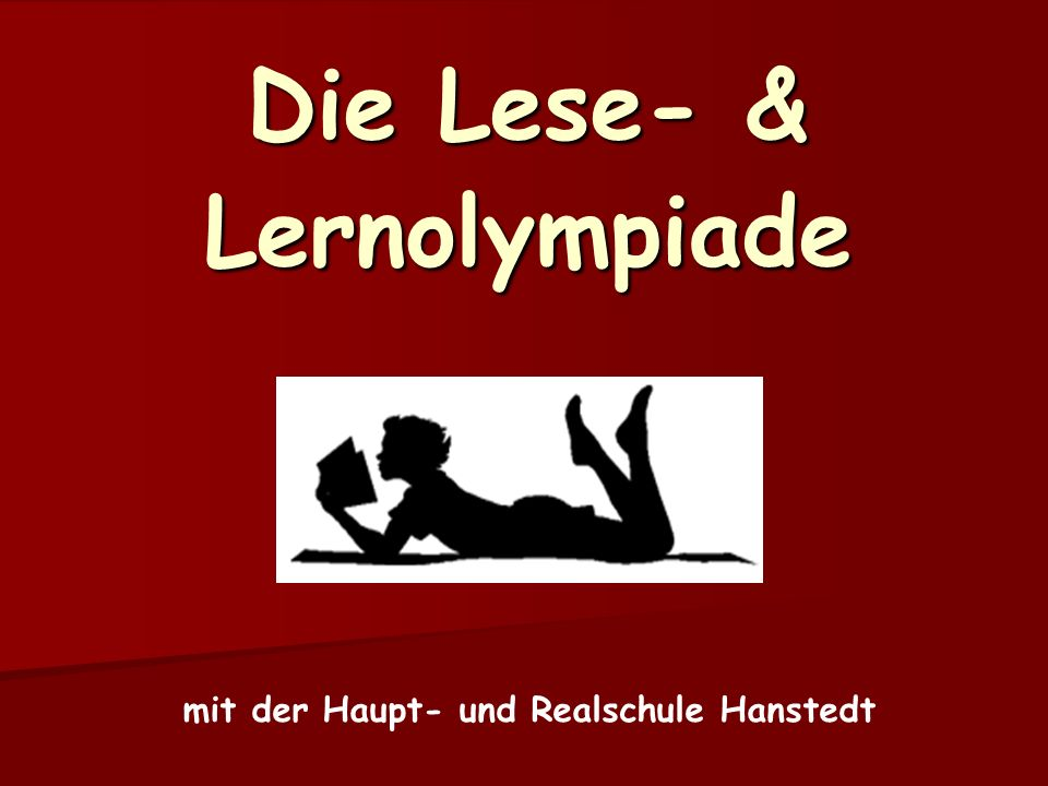 Die Lese- & Lernolympiade