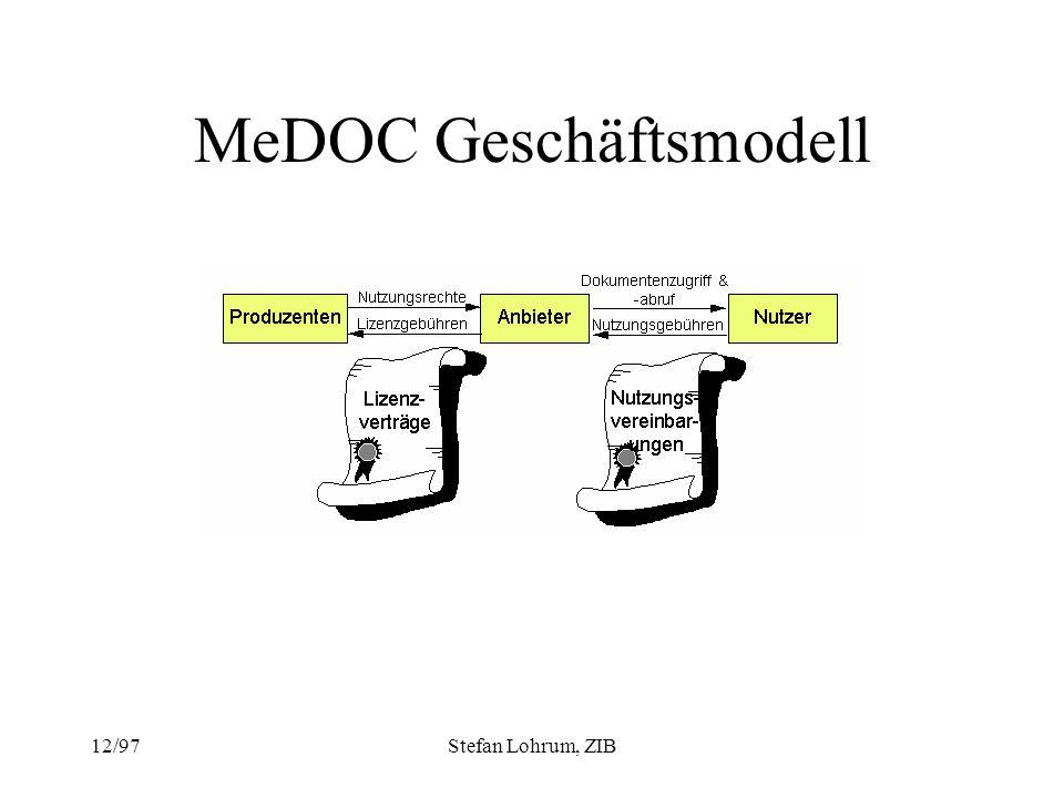 MeDOC Geschäftsmodell