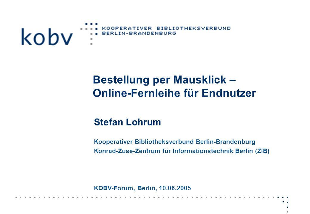 Bestellung per Mausklick – Online-Fernleihe für Endnutzer