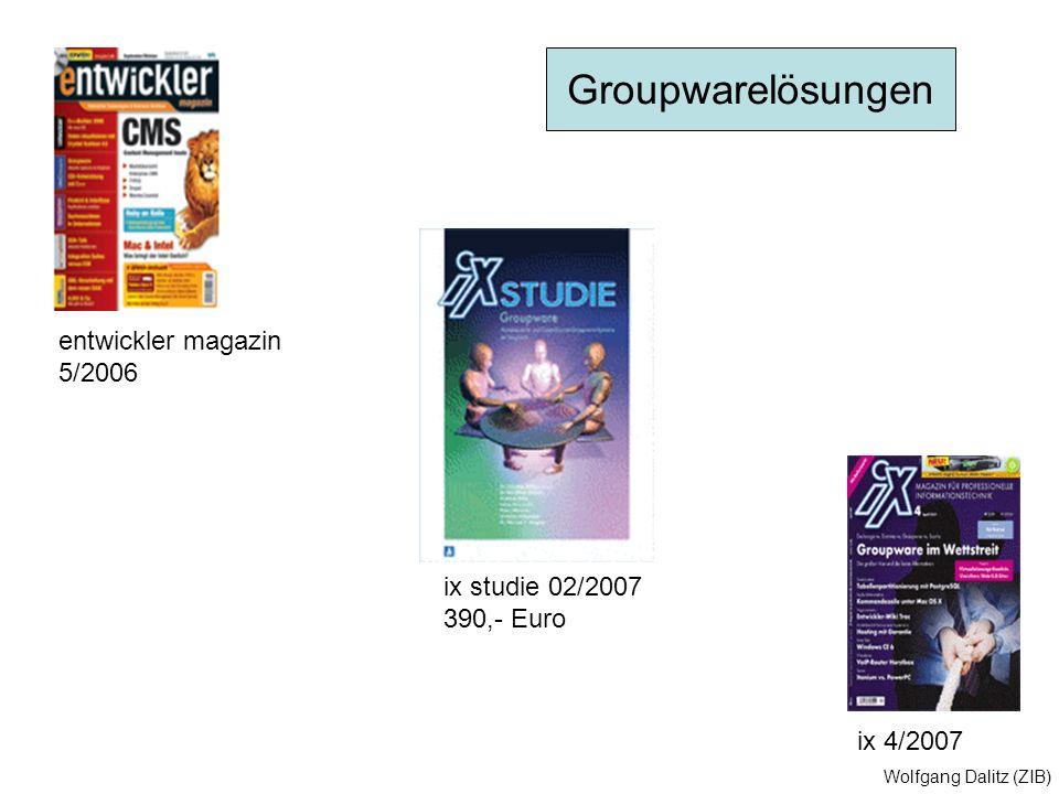 Groupwarelösungen entwickler magazin 5/2006