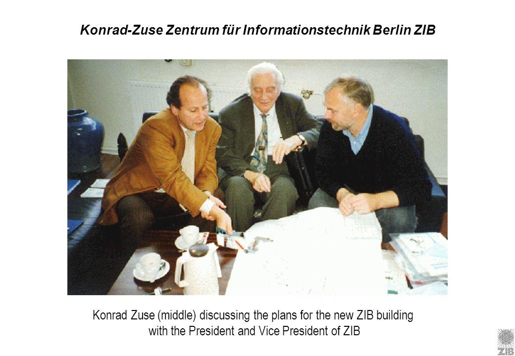 Konrad-Zuse Zentrum für Informationstechnik Berlin ZIB