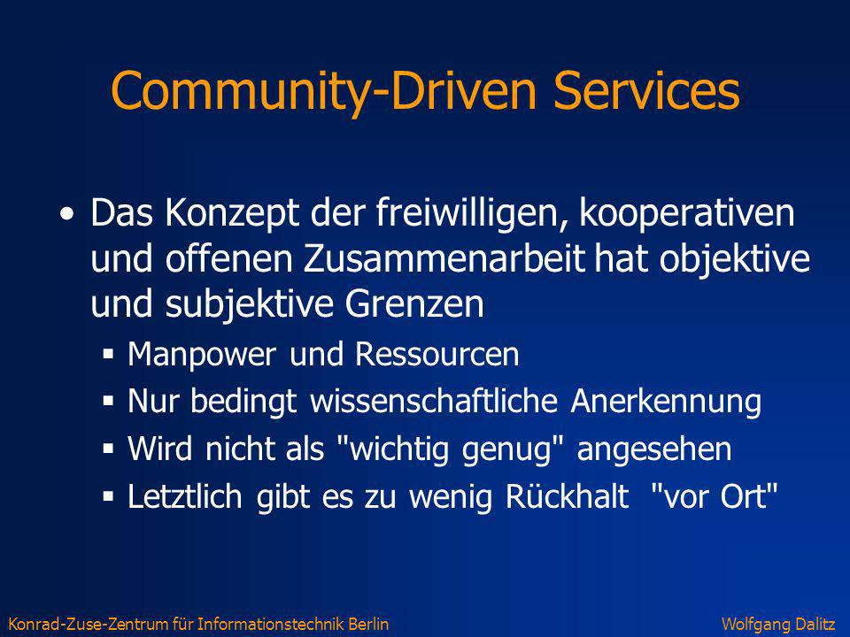Community-Driven Services