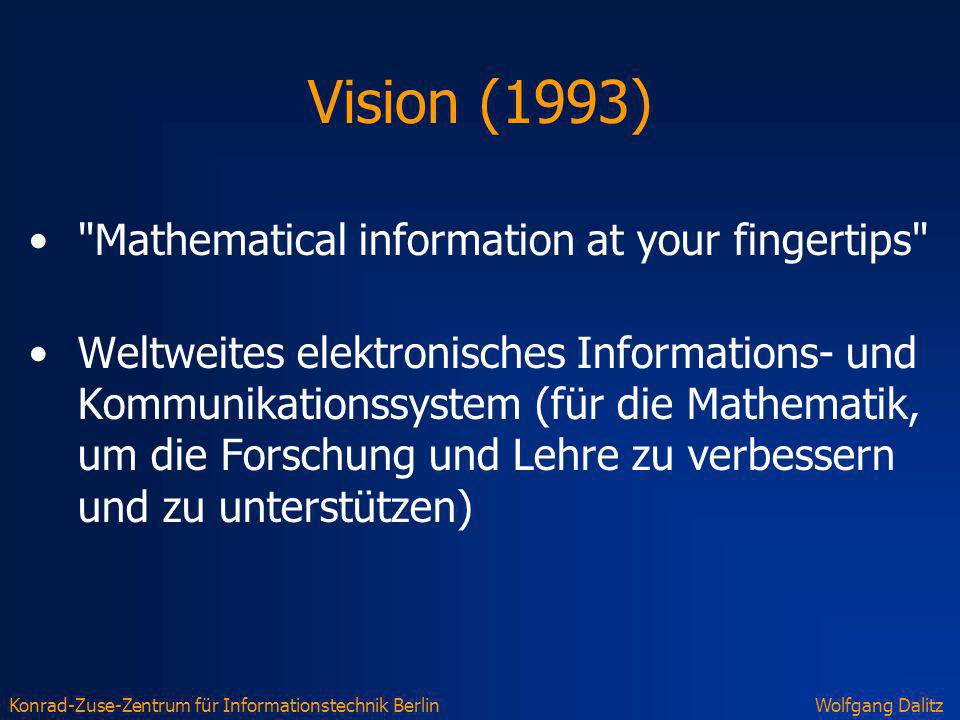 Vision (1993) Mathematical information at your fingertips