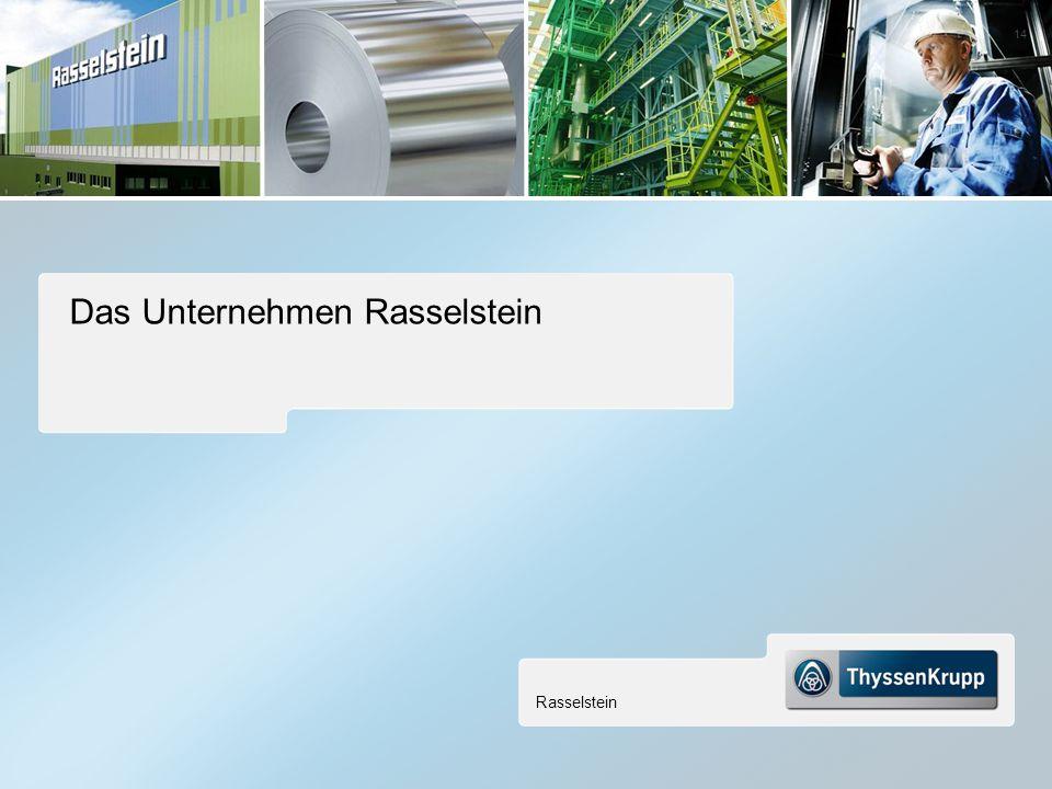 Das Unternehmen Rasselstein