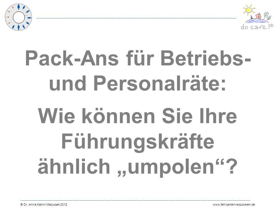 """Pack-Ans für Betriebs- und Personalräte: Wie können Sie Ihre Führungskräfte ähnlich """"umpolen"""