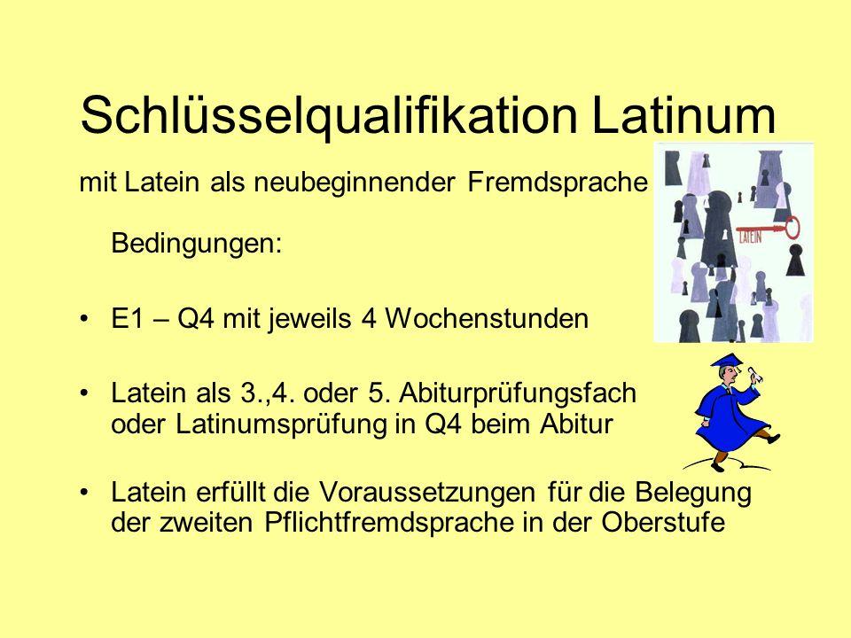 Schlüsselqualifikation Latinum