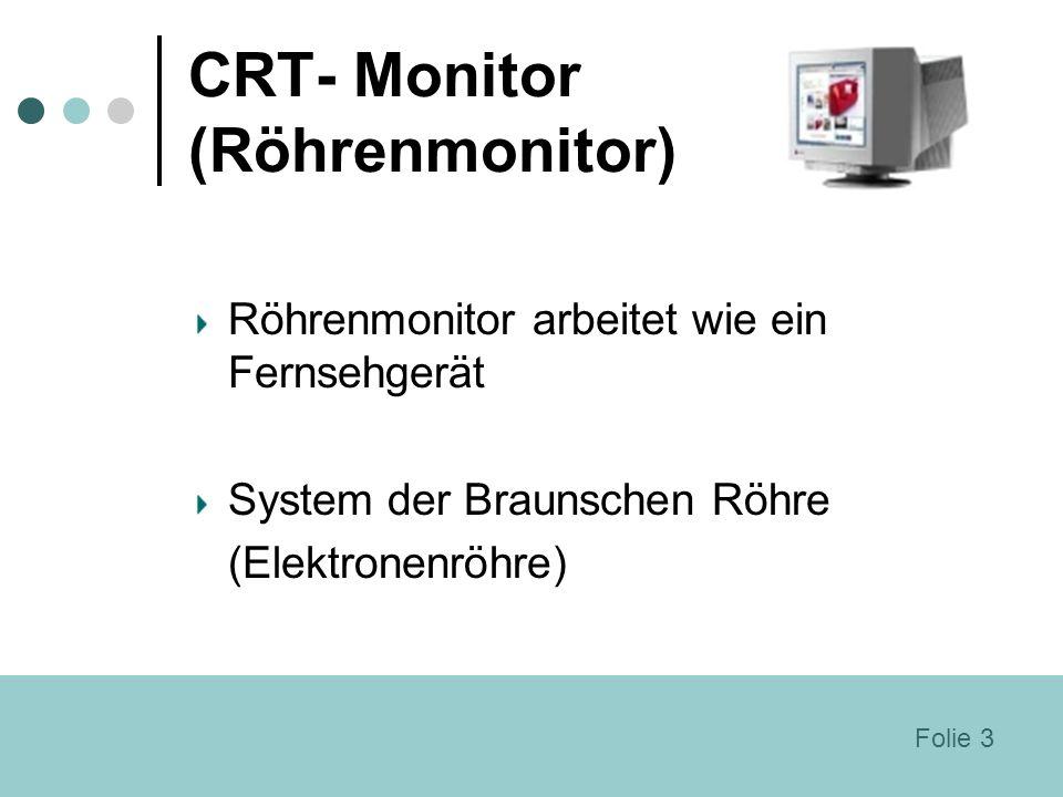 CRT- Monitor (Röhrenmonitor)