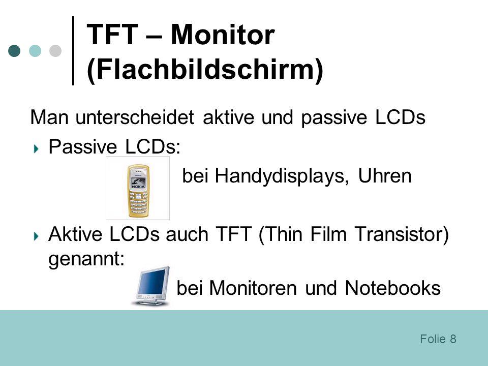 TFT – Monitor (Flachbildschirm)