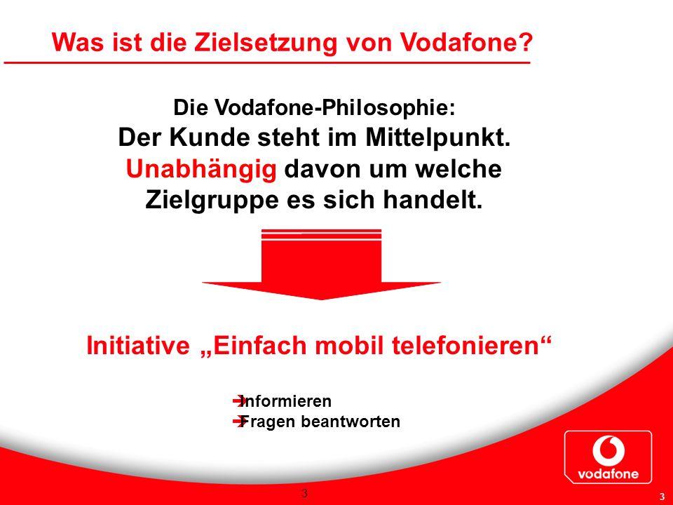 """Initiative """"Einfach mobil telefonieren"""