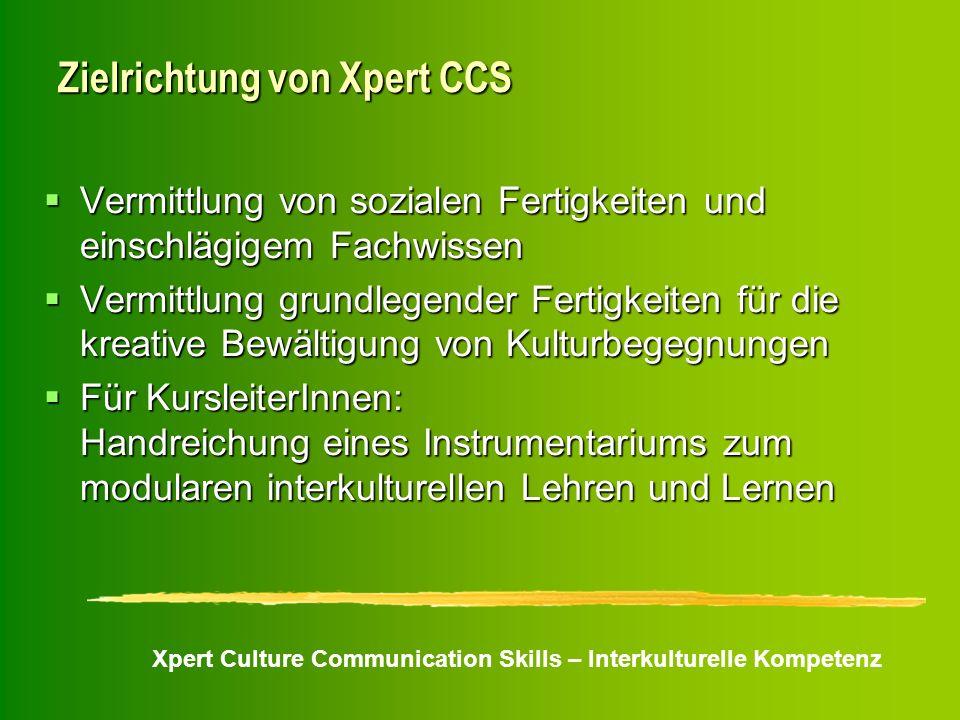 Zielrichtung von Xpert CCS