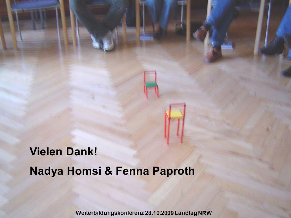 Nadya Homsi & Fenna Paproth