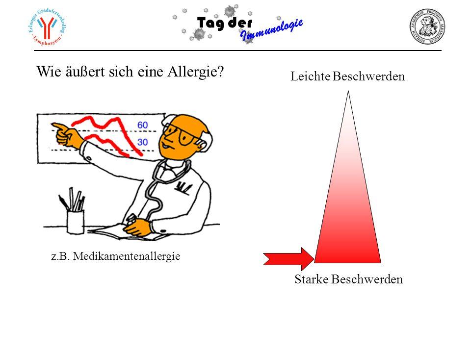Wie äußert sich eine Allergie